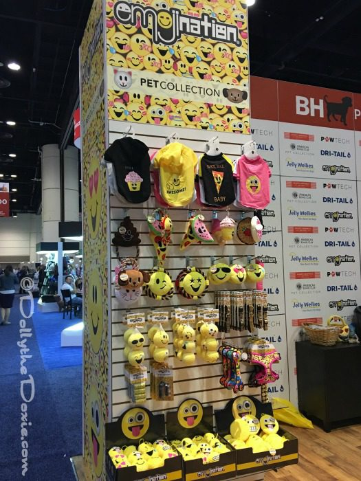 Emoji Licensed toys at Global Pet Expo 2017 Orange County Convention Center