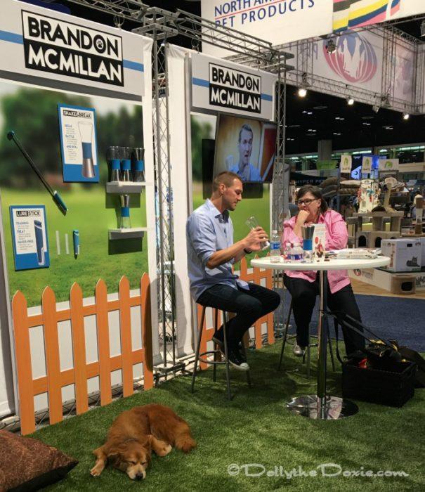 Brandon McMillan at Global Pet Expo at Orange County Convention Center