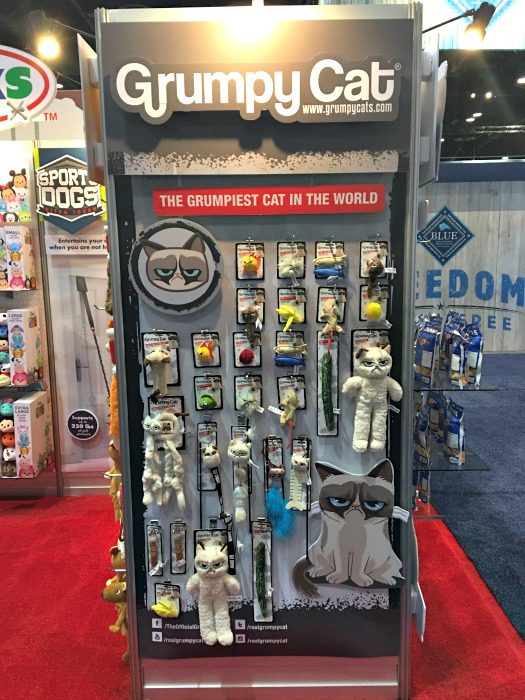 Grumpy Cat at Global Pet Expo 2017 Orange County Convention Center