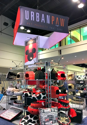 Pet industry trends at Global Pet Expo - licensed merchandise - Disney