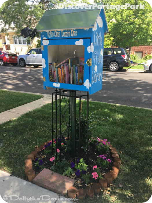 #DiscoverPortagePark Free Library