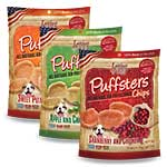 Loving Pets Affordable pet products - Puffsters air-puffed snack chips