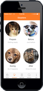ASPCA disaster app