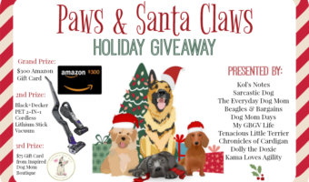 It's a Paws & Santa Claws Holiday Giveaway!